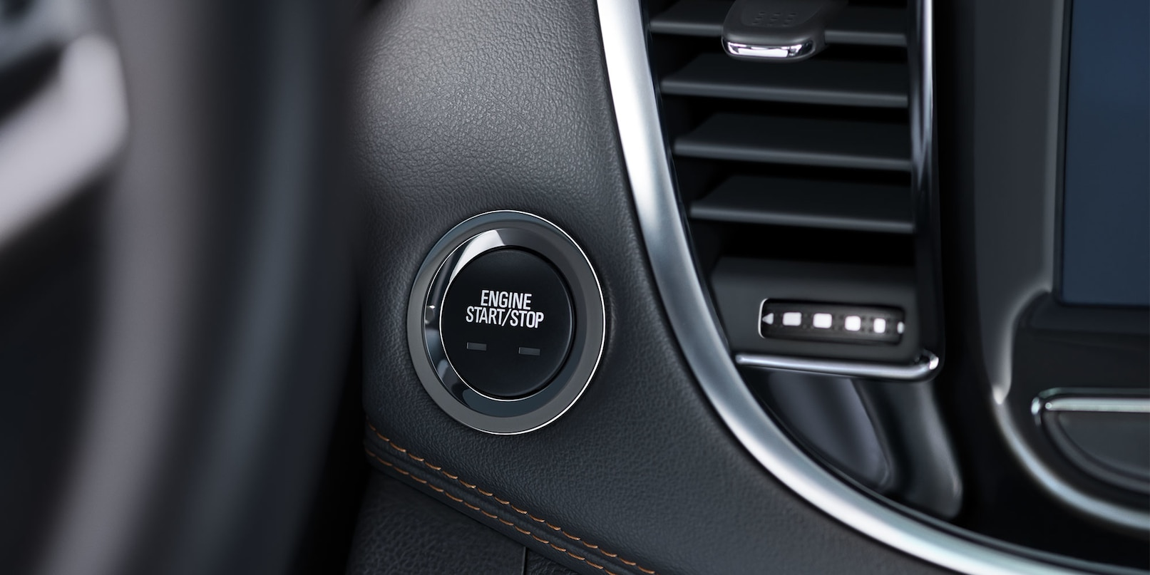Push Button Start in the 2020 Trax