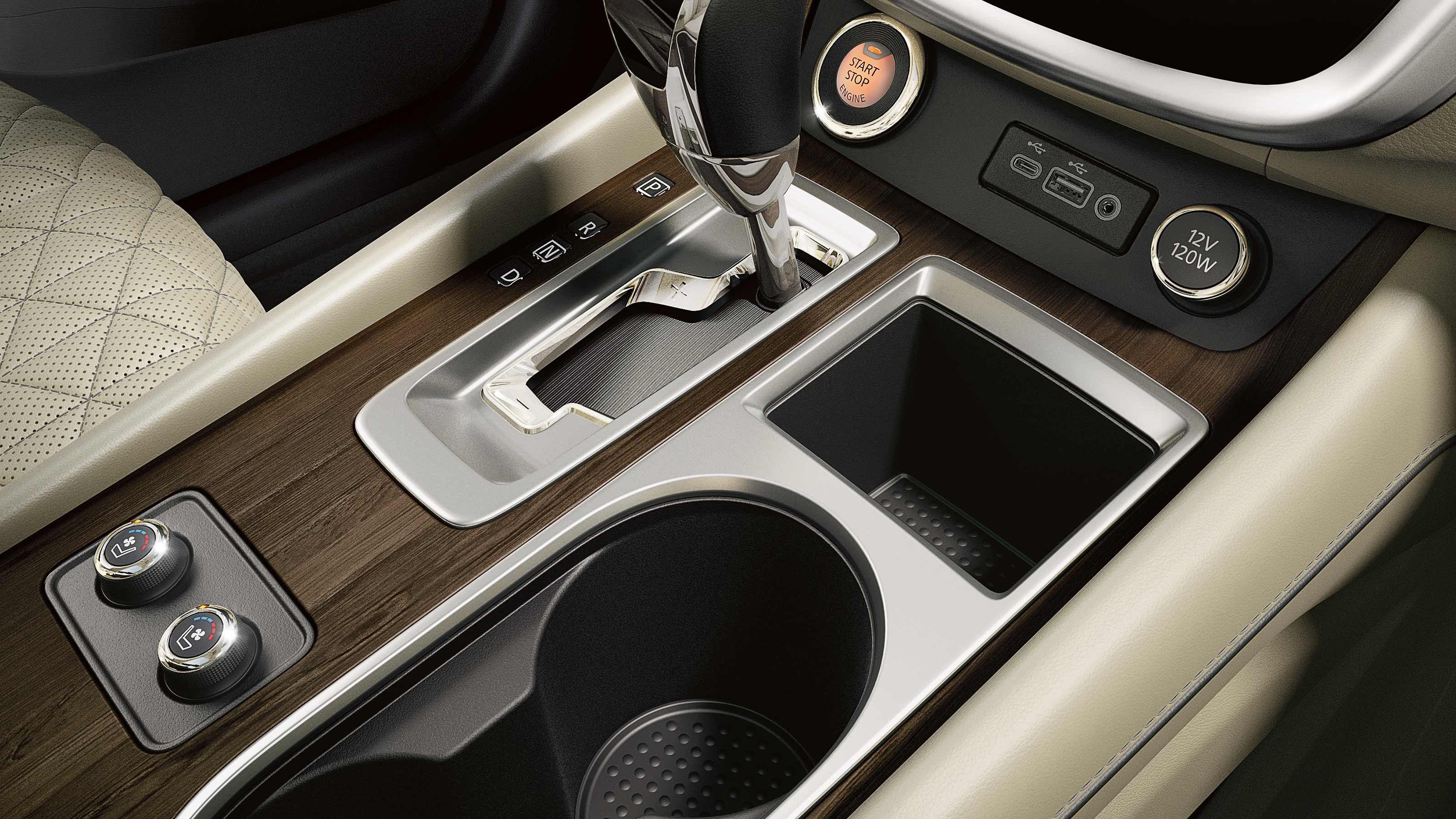 2020 Nissan Murano Center Console