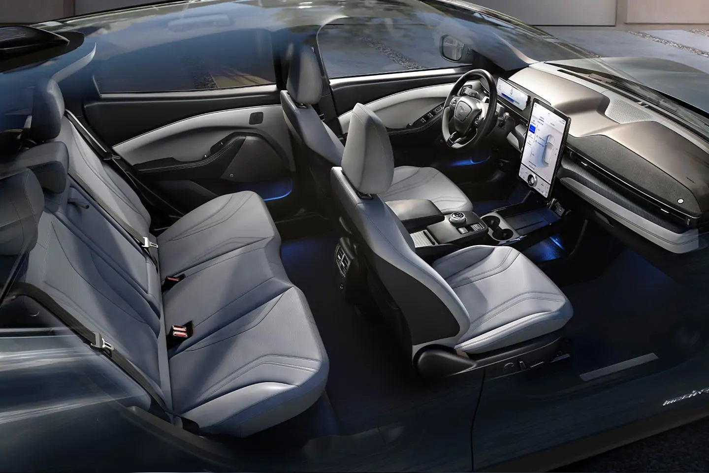 2021 Ford Mustang Mach-E Cabin