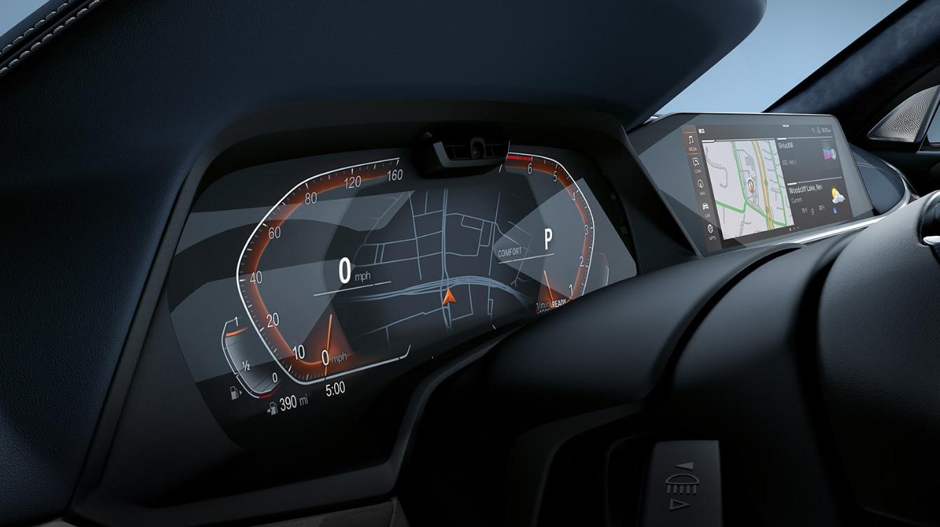 2020 BMW X7 Digital Instrument Cluster