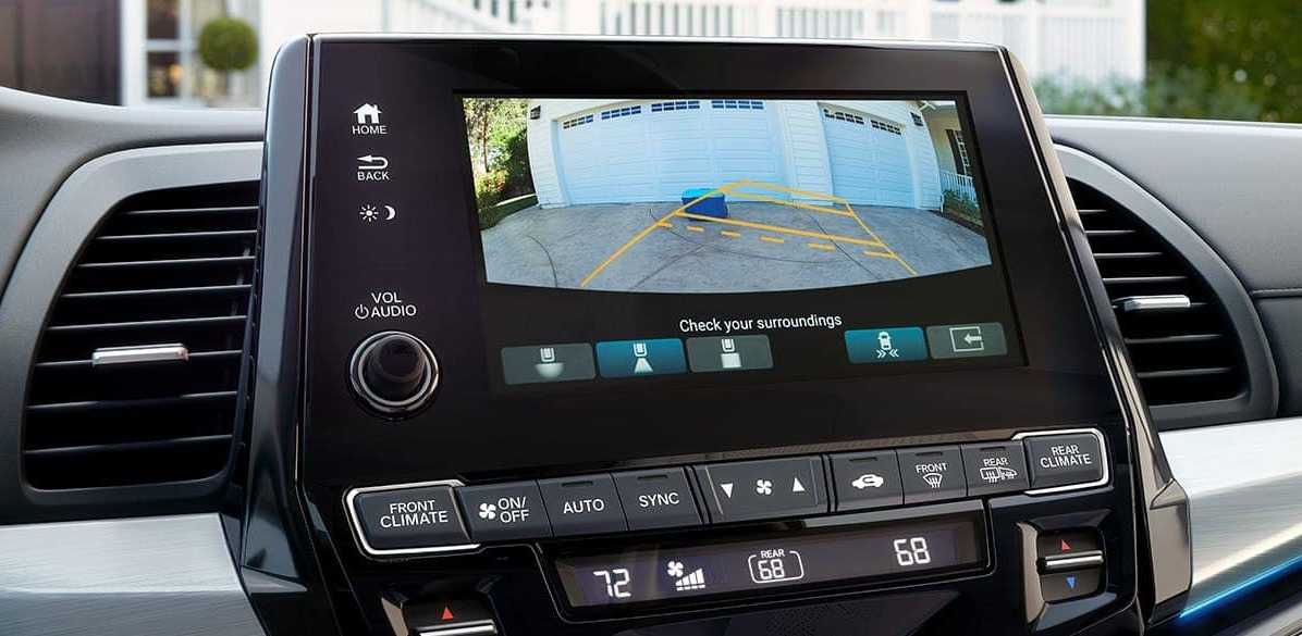 Multi-Angle Rear View Camera in the 2020 Odyssey