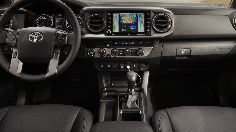 2020 Toyota Tacoma Cockpit
