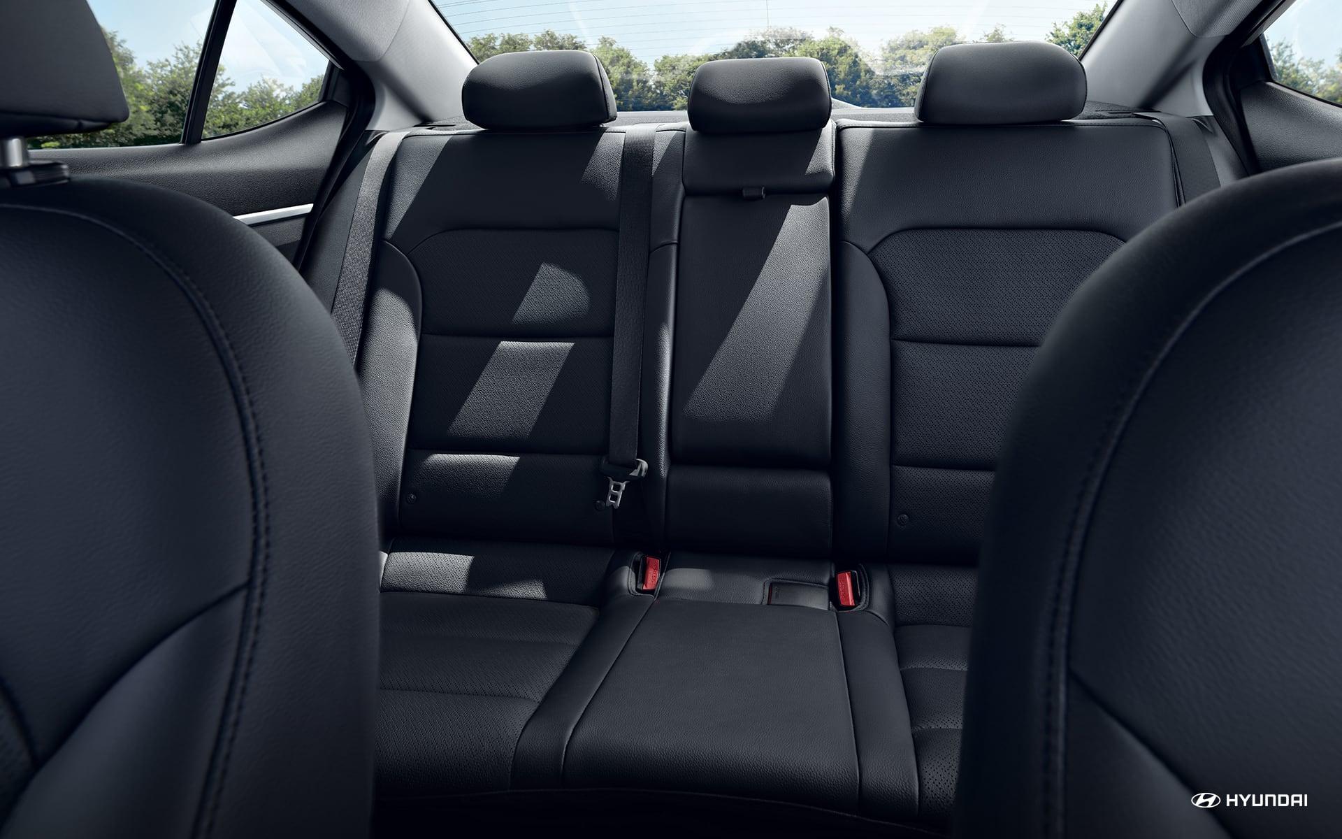2020 Elantra Rear Seating