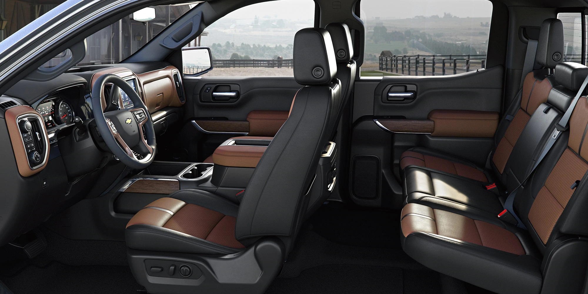Interior de la Chevrolet Silverado 1500