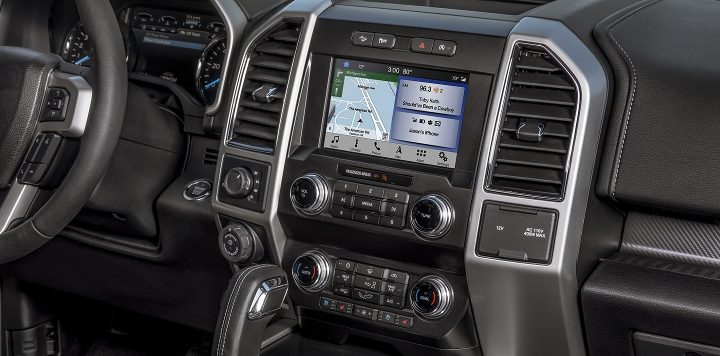 2020 Ford F-150 Technology