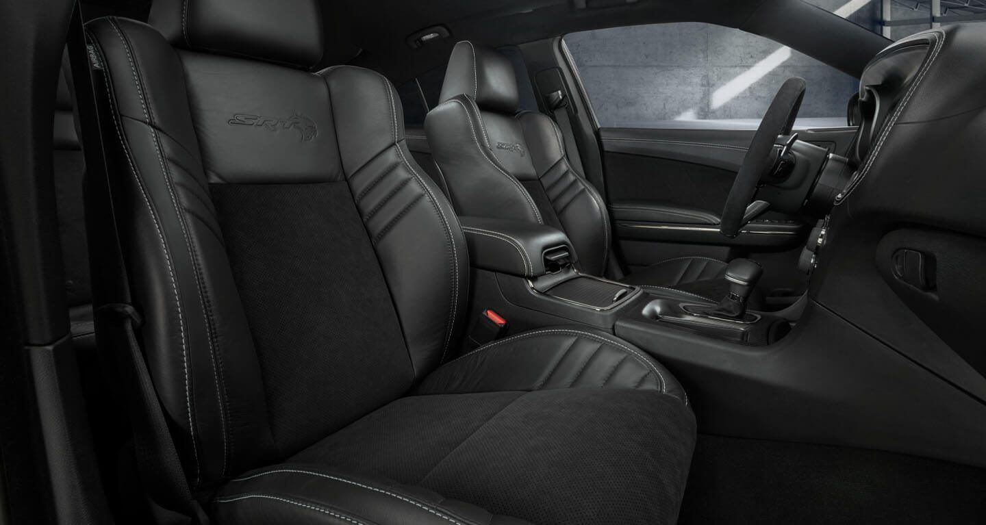 2020 Charger Interior