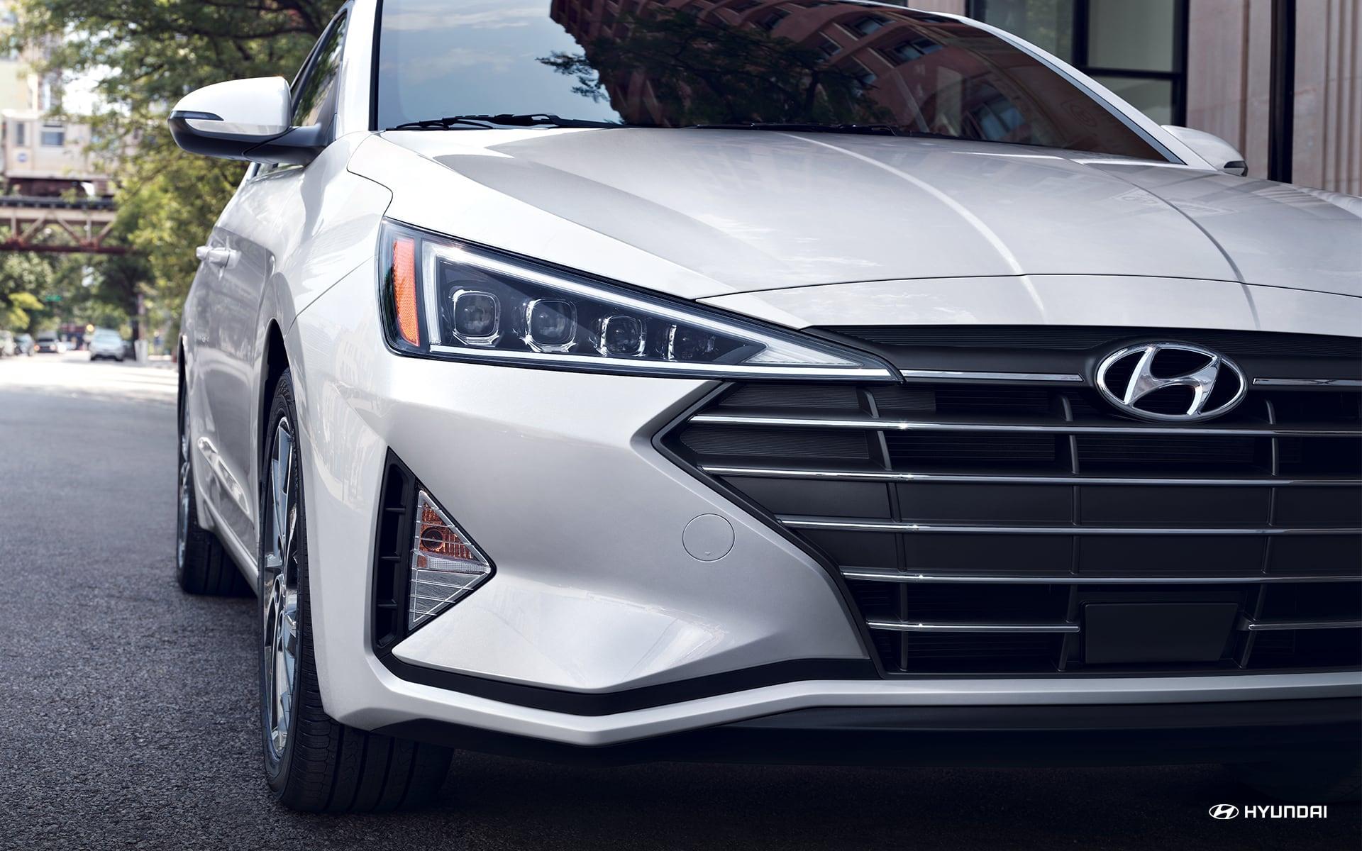 Exterior del Hyundai Elantra 2020