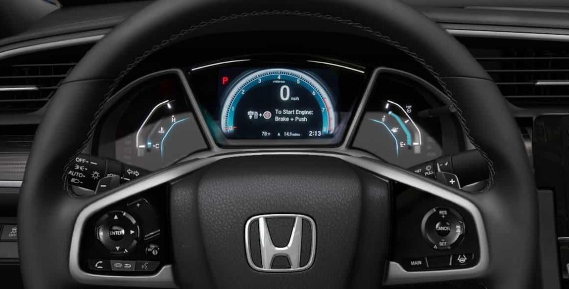 2020 Honda Civic Steering Wheel
