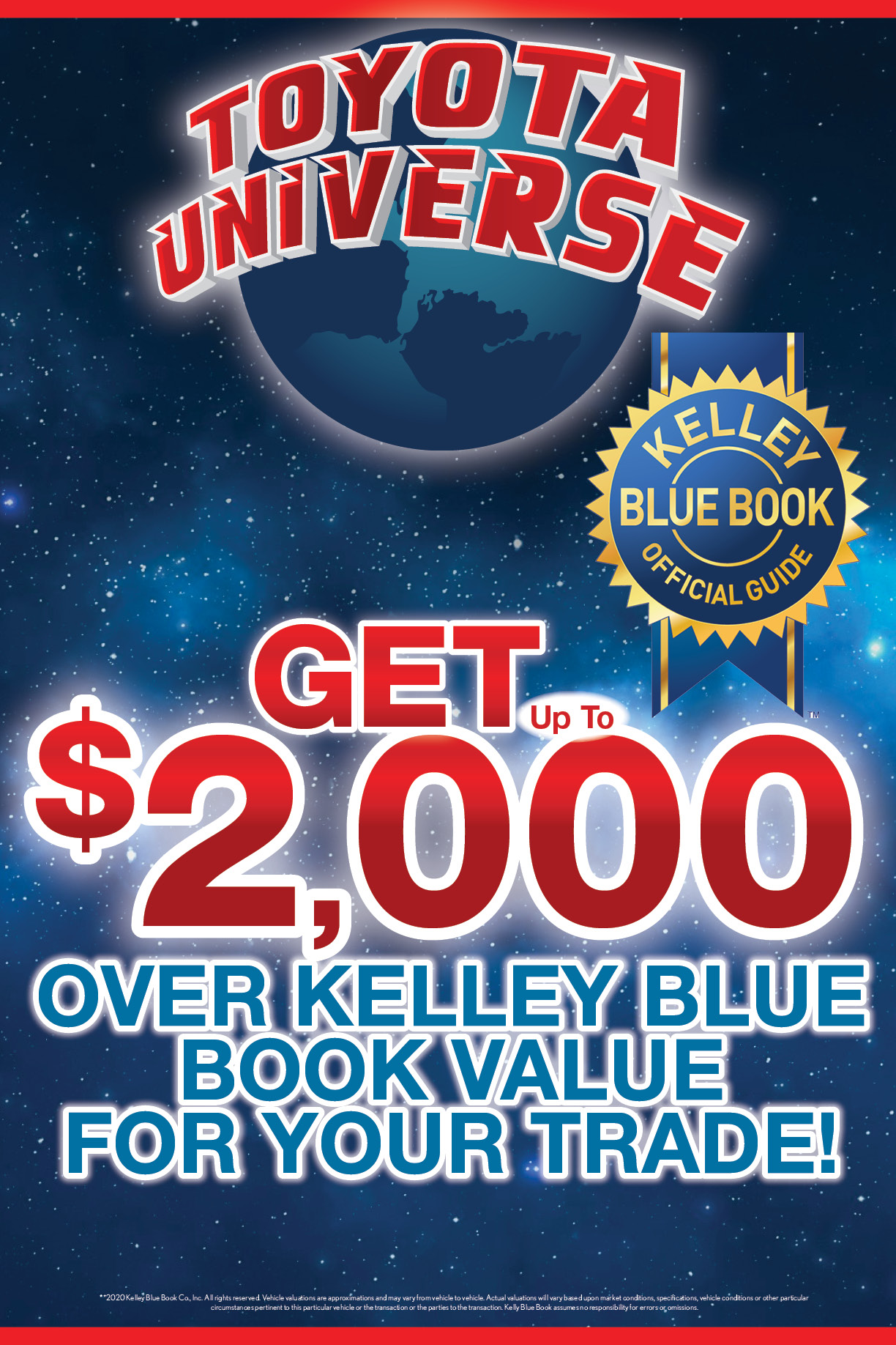 Kelley Blue Book Up To 2000 Over For Your Trade Toyota