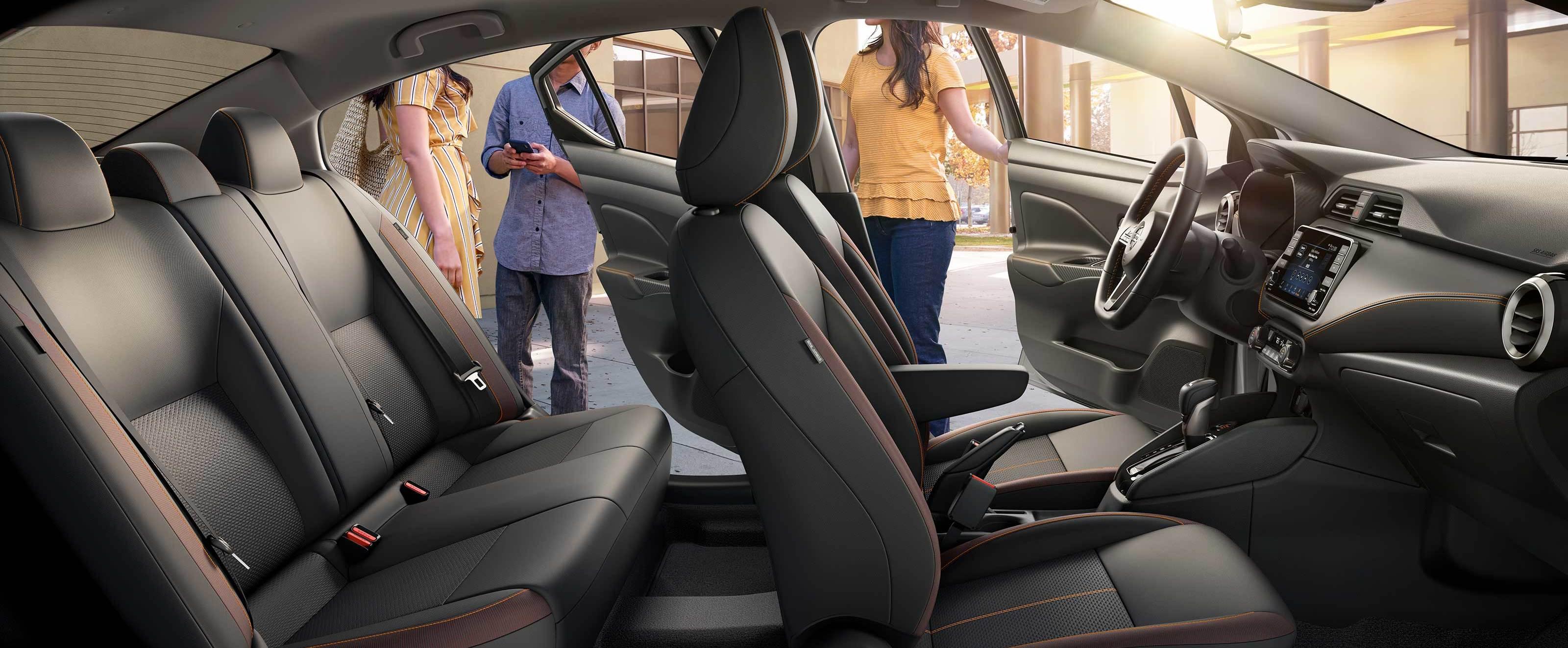 2020 Nissan Versa Spacious Interior