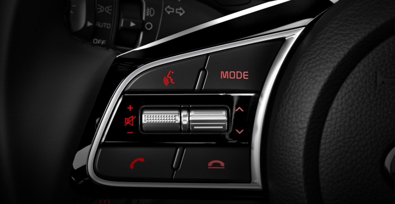 Steering-Wheel Controls in the 2020 Kia Forte