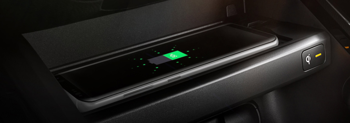 Wireless Charger in the 2020 Kia Forte