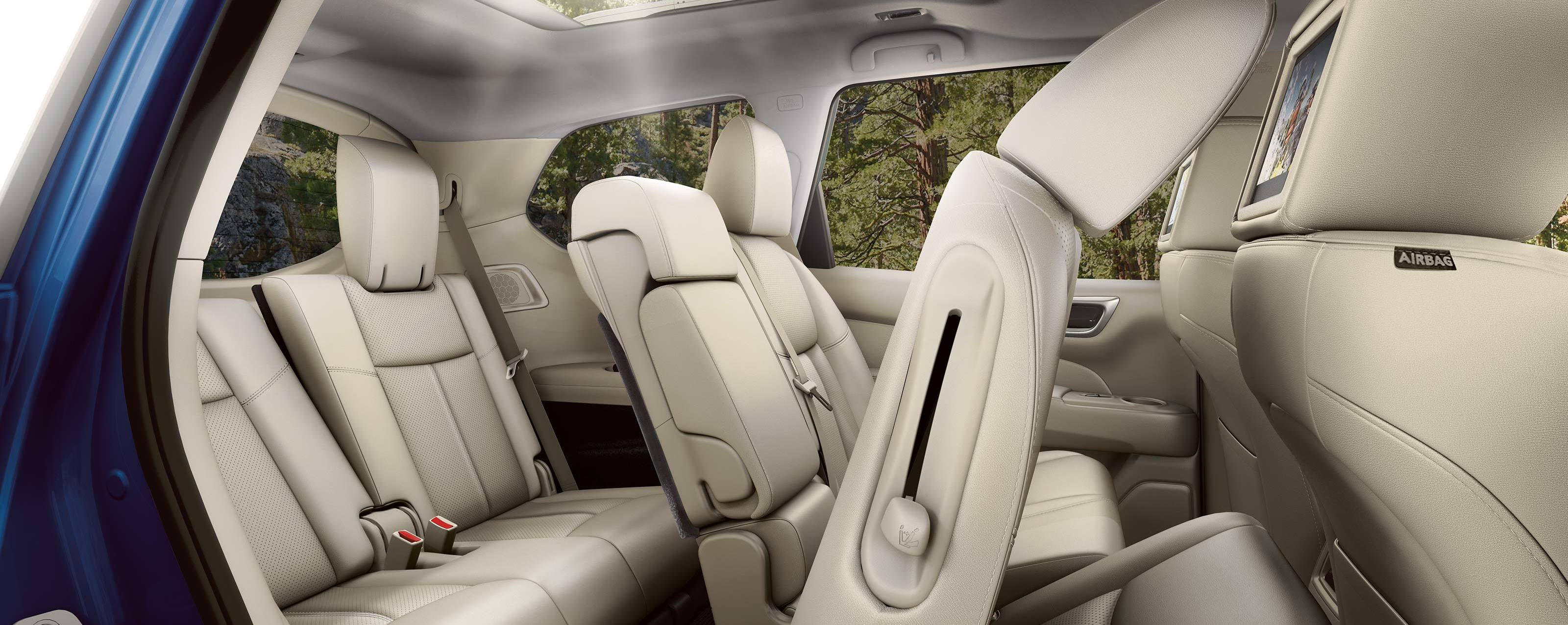 2020 Nissan Pathfinder EZ FLEX® Seating System
