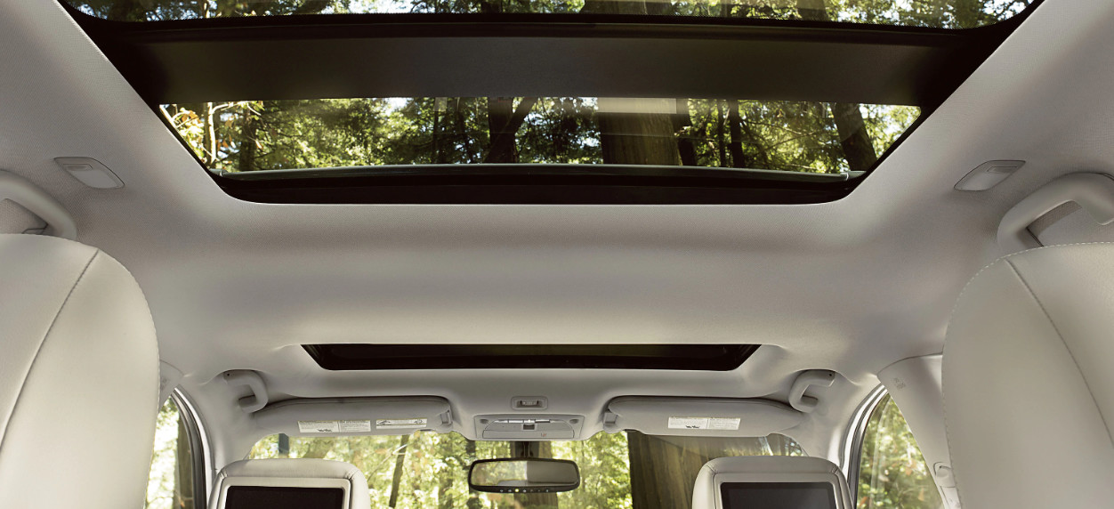 2020 Nissan Pathfinder Available Dual Panel Panoramic Moonroof