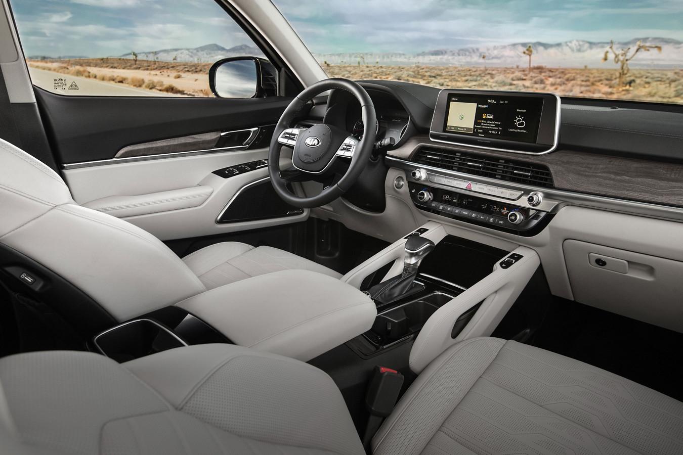 Descubre un confort superior en el interior del Kia Telluride 2020.