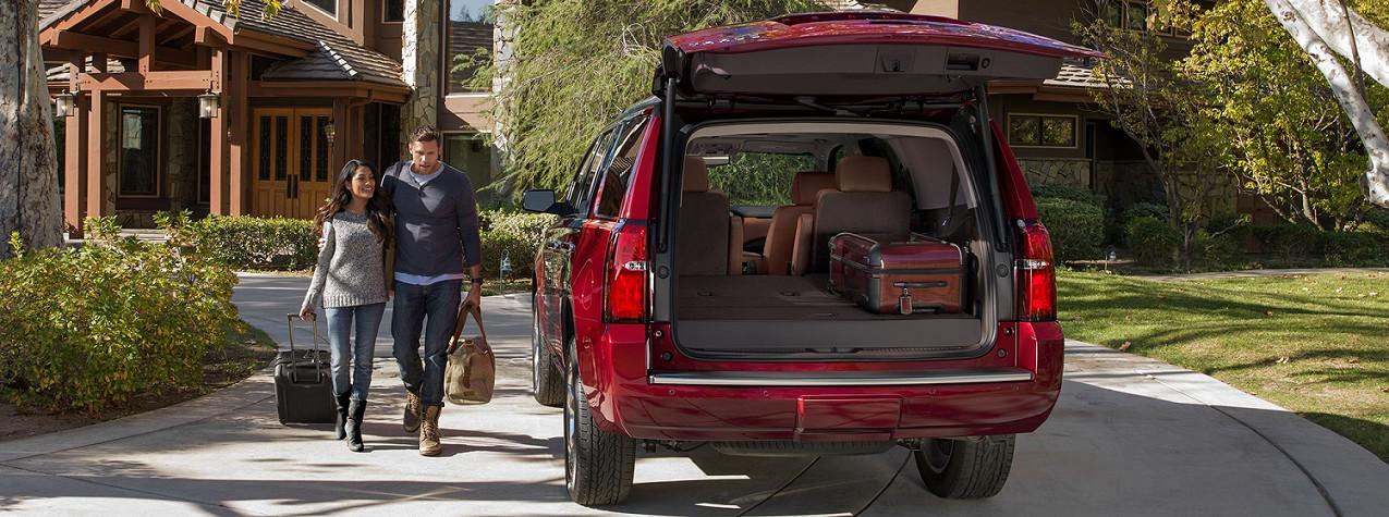 No limites tu equipaje: en la Chevy Tahoe 2020 hay espacio para todo.