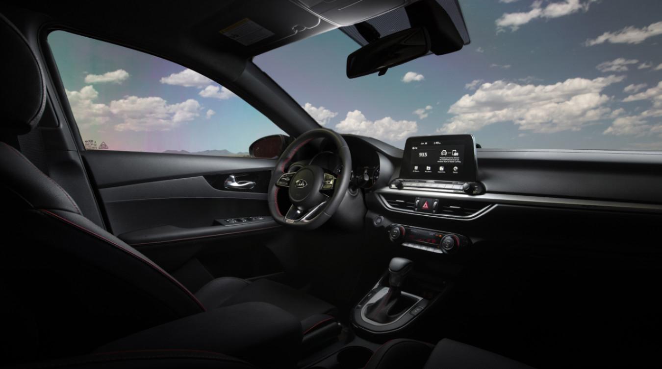 Consiéntete cada día conduciendo un Kia Forte 2020.