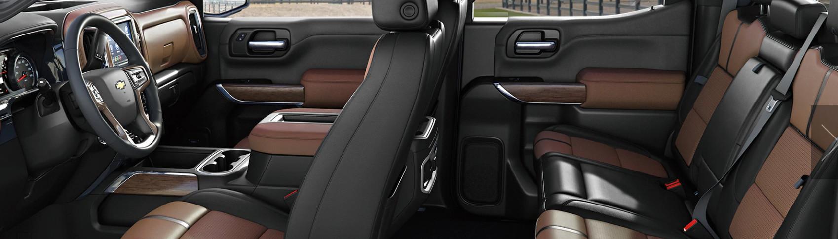 Chevrolet Silverado 1500 2020 Interior