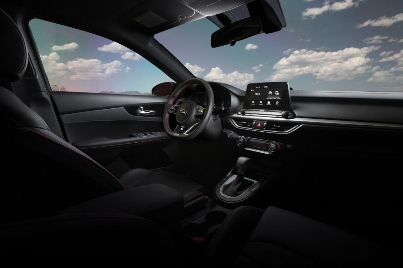 2020 Kia Forte Cockpit