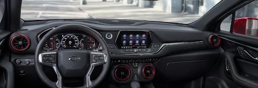Así de deportivo es el interior del modelo RS.