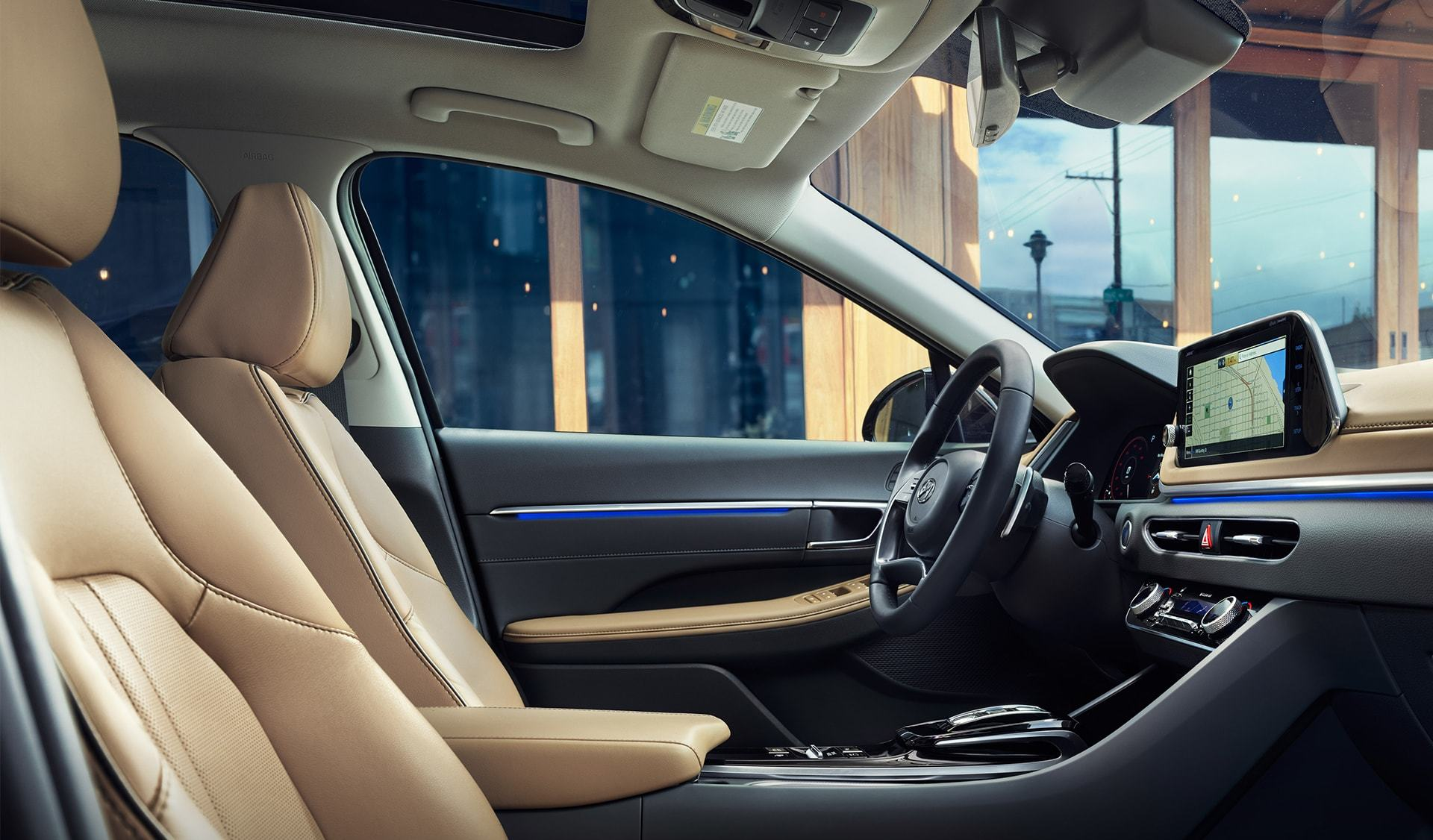 2020 Hyundai Sonata Cockpit