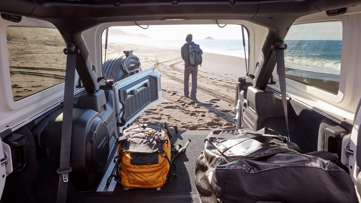 2020 Wrangler Unlimited Cargo Space