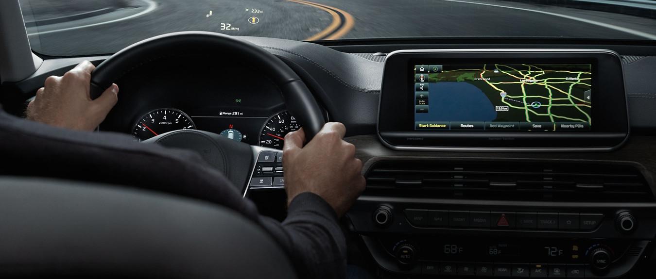 2020 Kia Telluride Navigational Technology