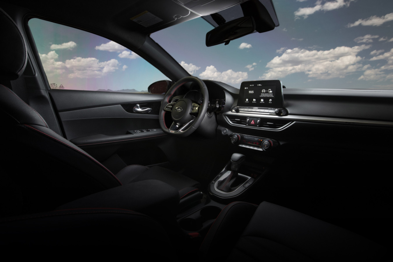 Accommodating Cabin of the 2020 Kia Forte