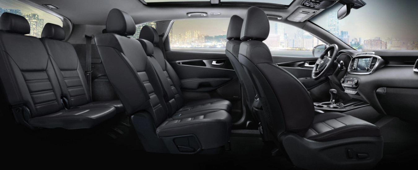 Spacious Seating in the 2020 Sorento