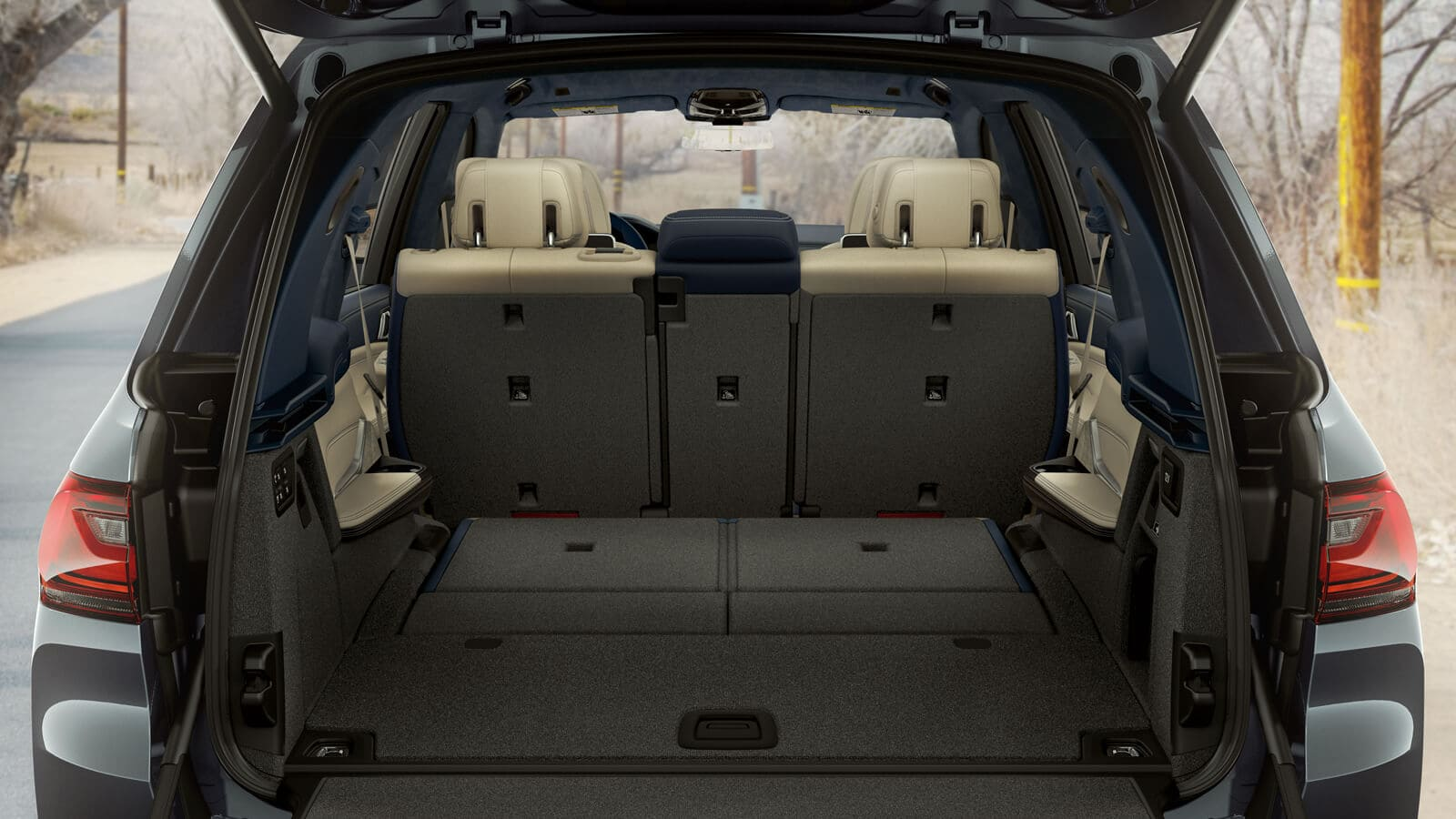 X7 Cargo Space