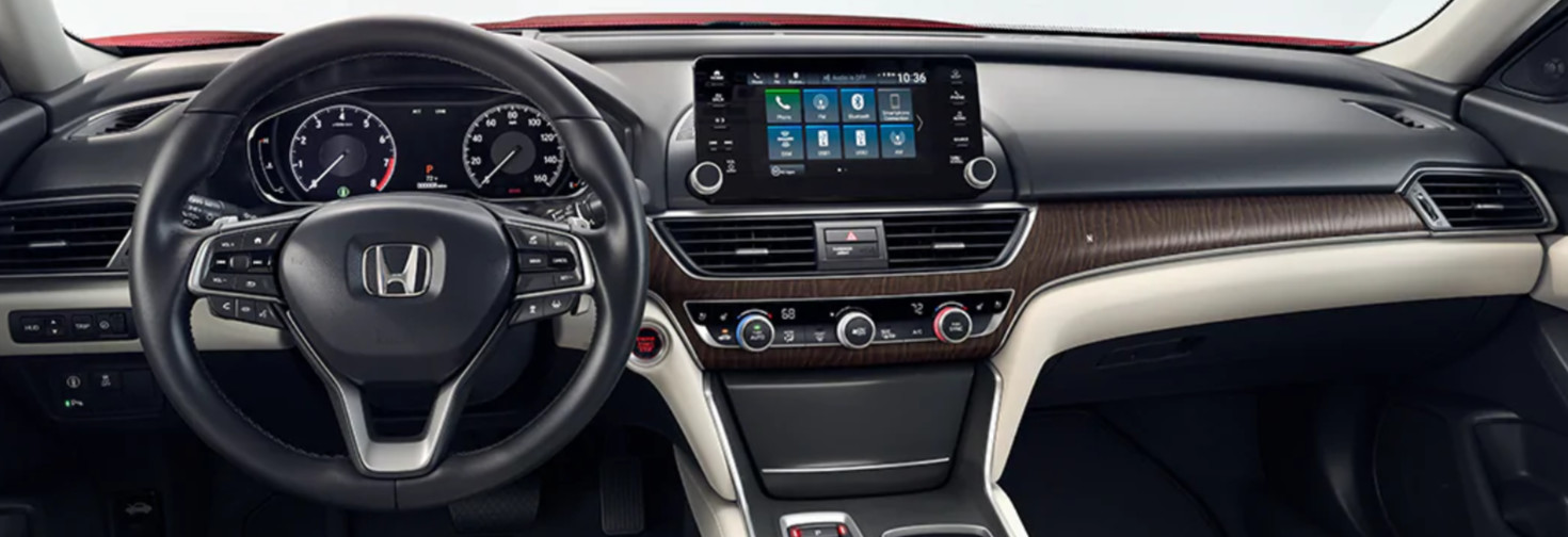 2020 Honda Accord Center Stack