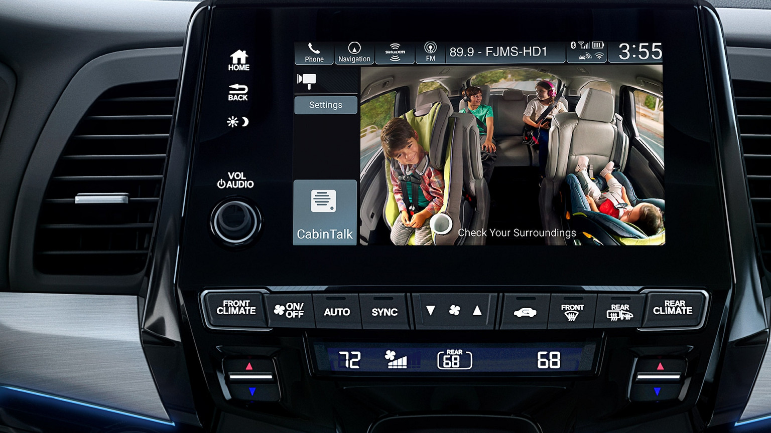 2020 Honda Odyssey With CabinWatch®