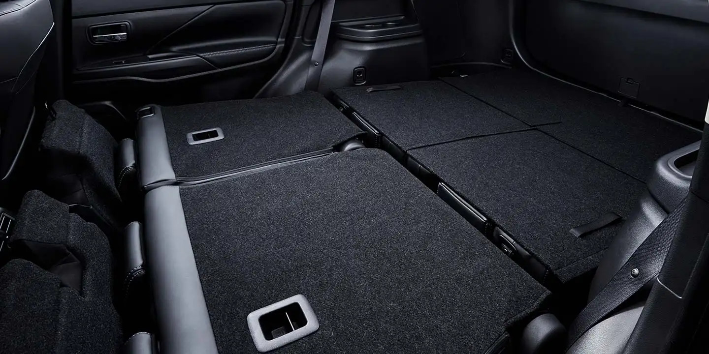 Storage Area of the 2020 Outlander
