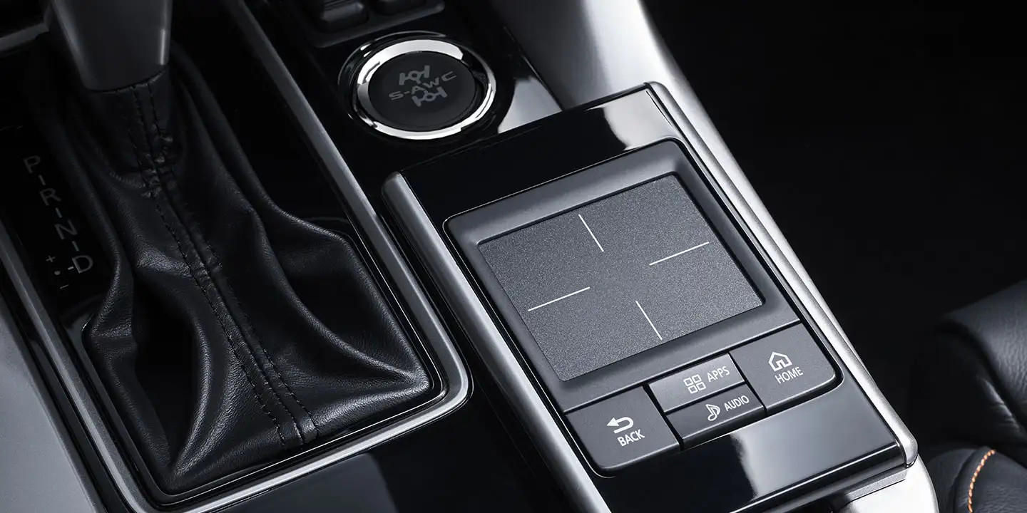 Touchpad Control in the 2020 Eclipse Sport
