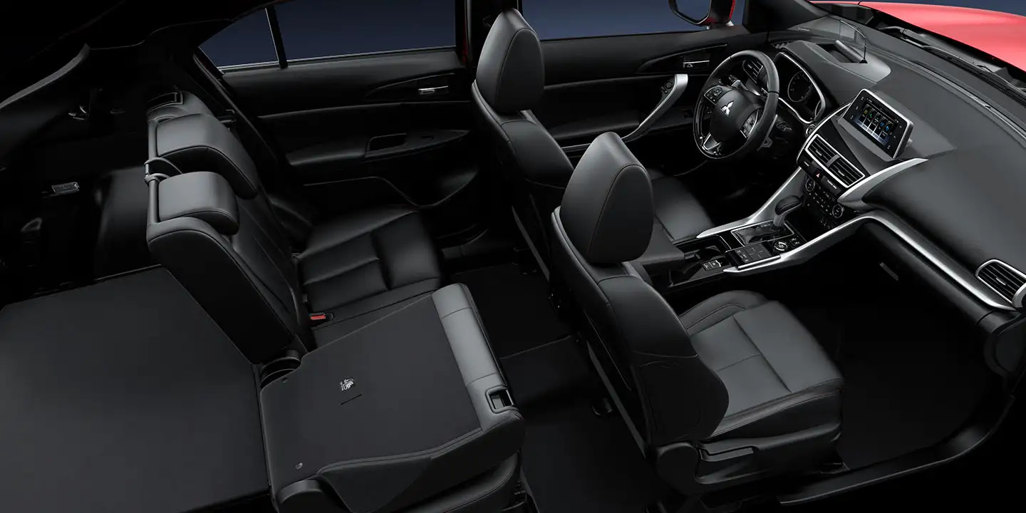 Spacious Interior of the 2020 Eclipse Cross