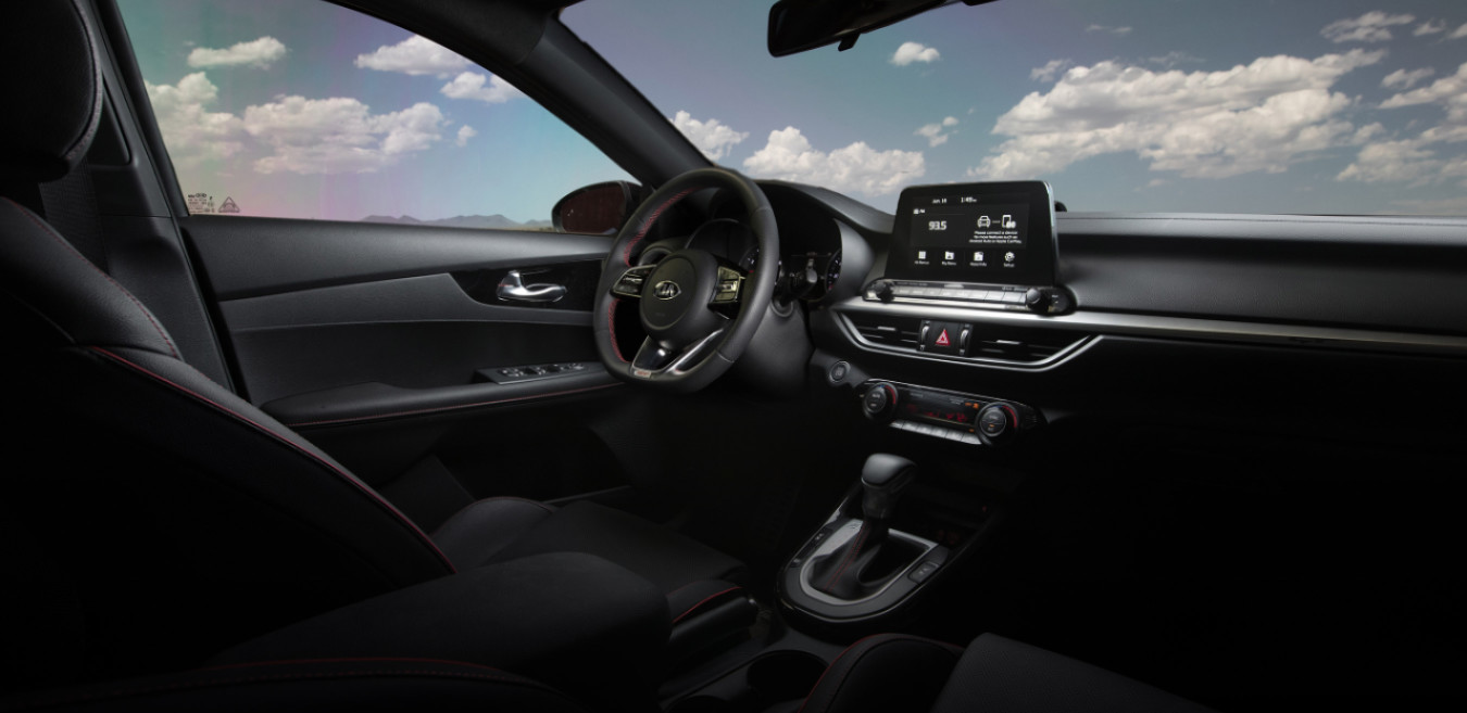 Cabin of the 2020 Forte