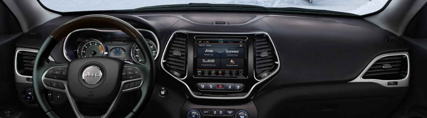 2020 Jeep Cherokee Available Uconnect®
