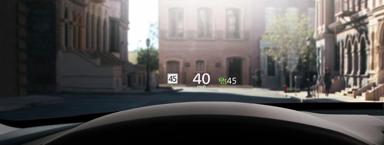 2020 Mazda CX-30 Head-Up Display