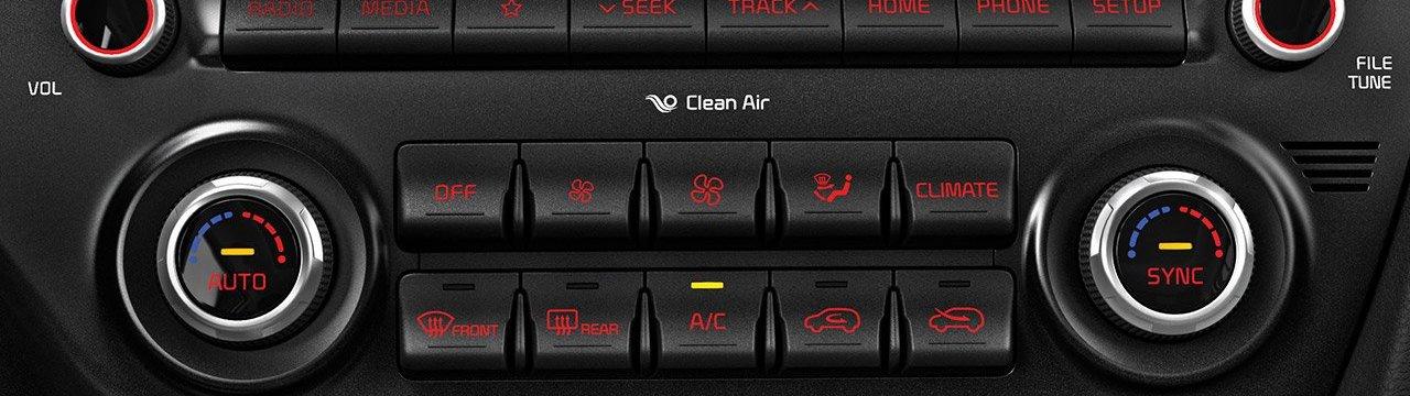 2020 Kia Sportage Climate Control System