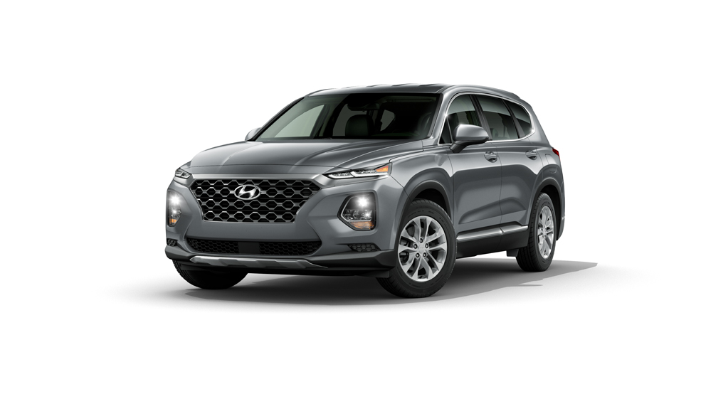Photo of a gray 2020 Hyundai Santa Fe for sale at Waikem Hyundai