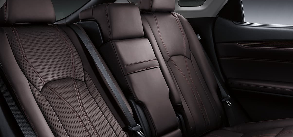 Plush Upholstery in the 2020 RX 350