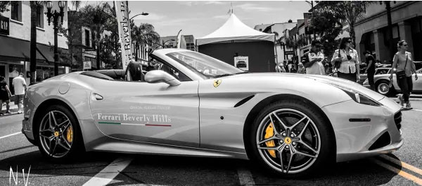 2016 Concorso Ferrari in Old Town Pasadena