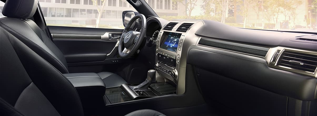 Spacious Interior of the 2020 GX 460