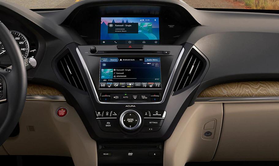 2020 Acura MDX Dashboard