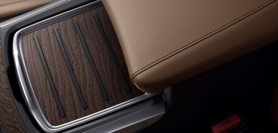 Wood and Leather Accents in the 2020 MDX