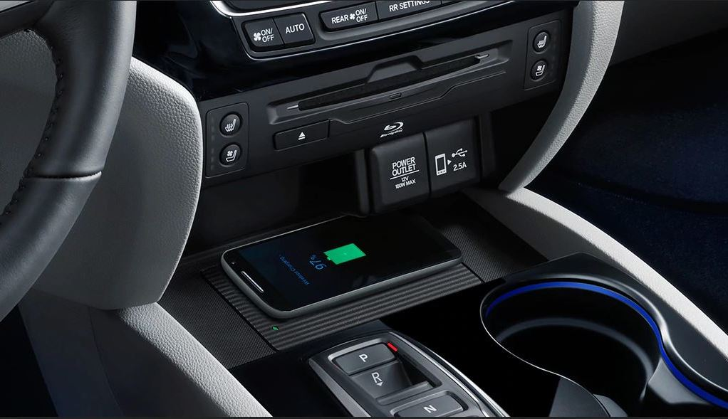 Wireless Charger in the 2020 Pilot