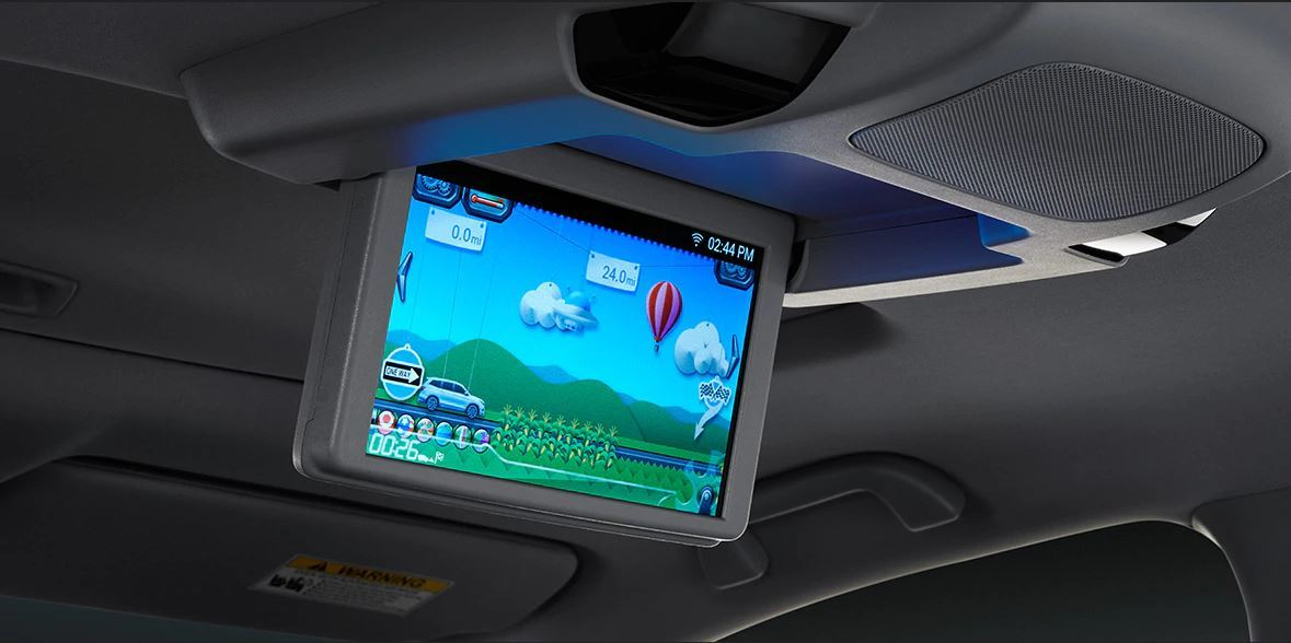 Rear Seat Entertainment in the 2020 Pilot