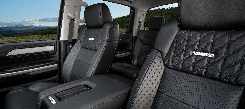2020 Toyota Tundra Spacious Interior