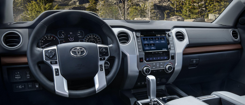 2020 Toyota Tundra Limited CrewMax Interior