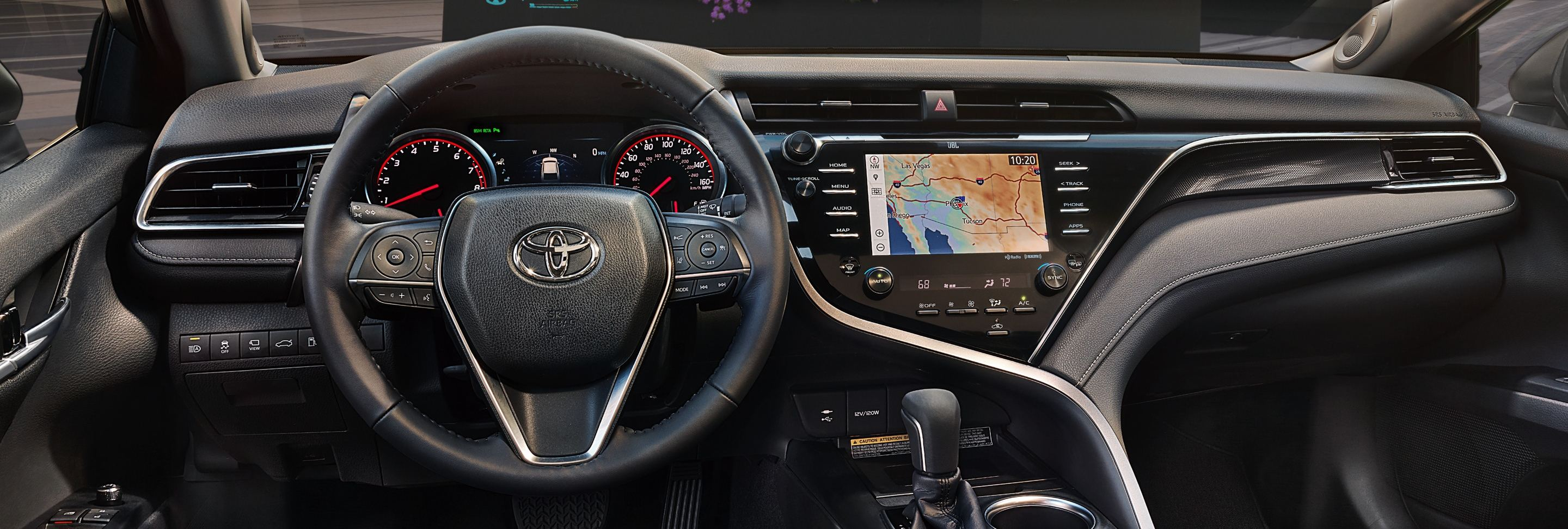 Secure Cabin of the 2020 Camry